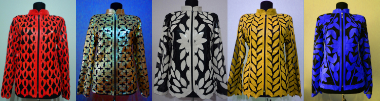 Click to See Leather Leaf Jackets